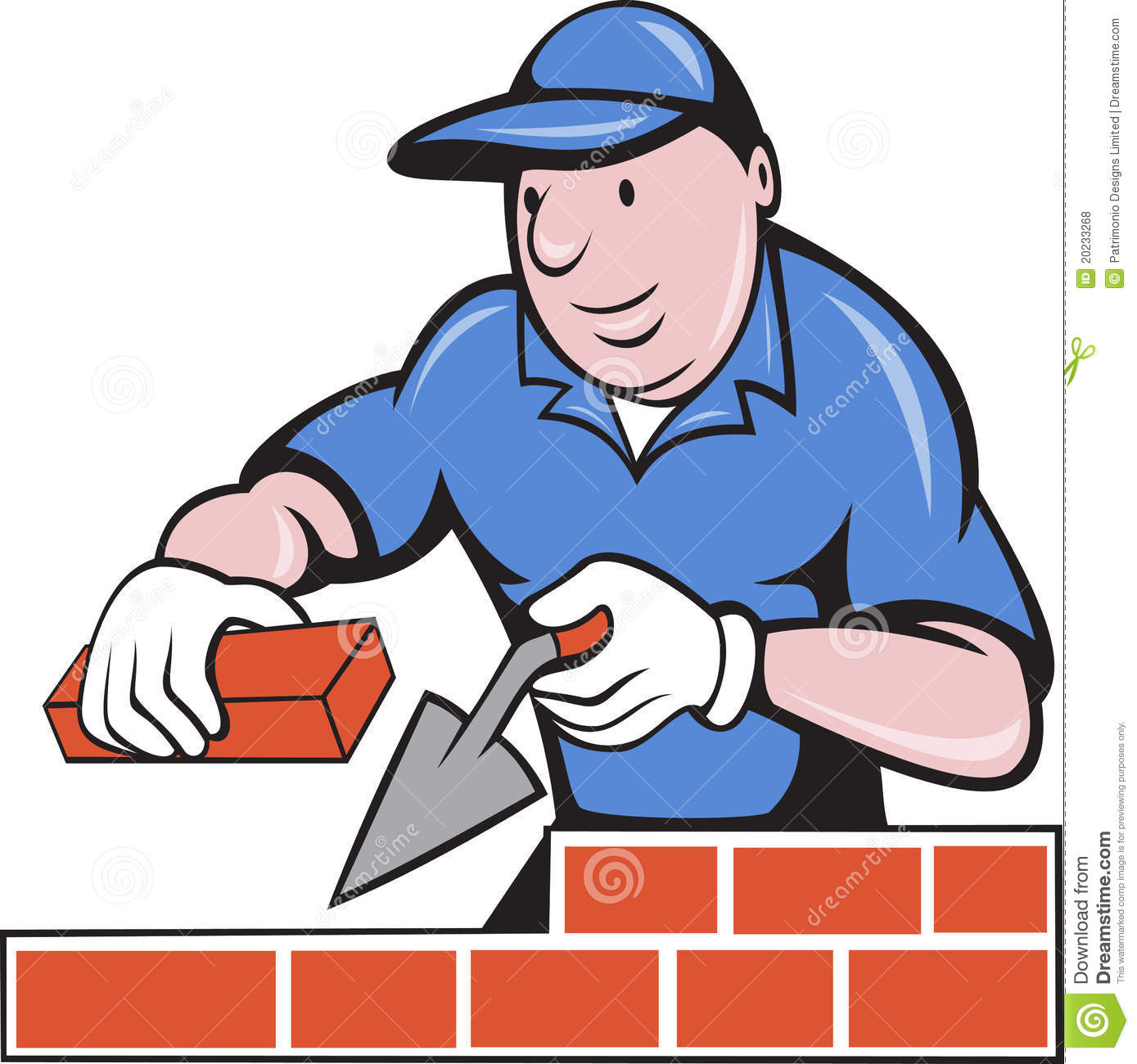 clip art library stock Station . Mason clipart worker.