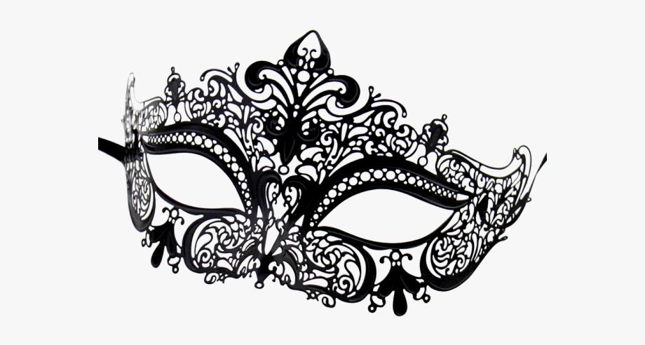banner transparent stock Masquerade clipart. Venetian mask transparent background.