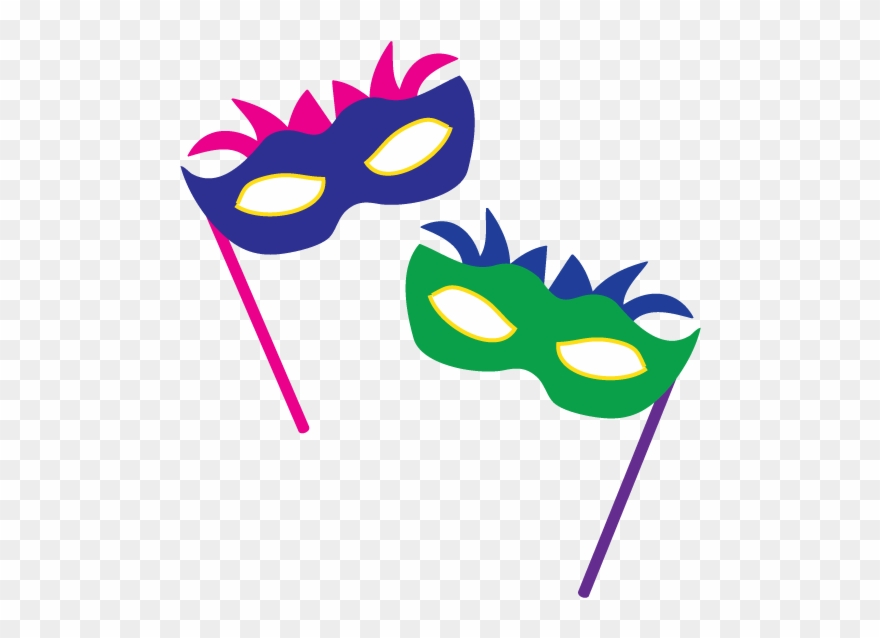 picture library library Party carnival masks clip. Masquerade clipart.