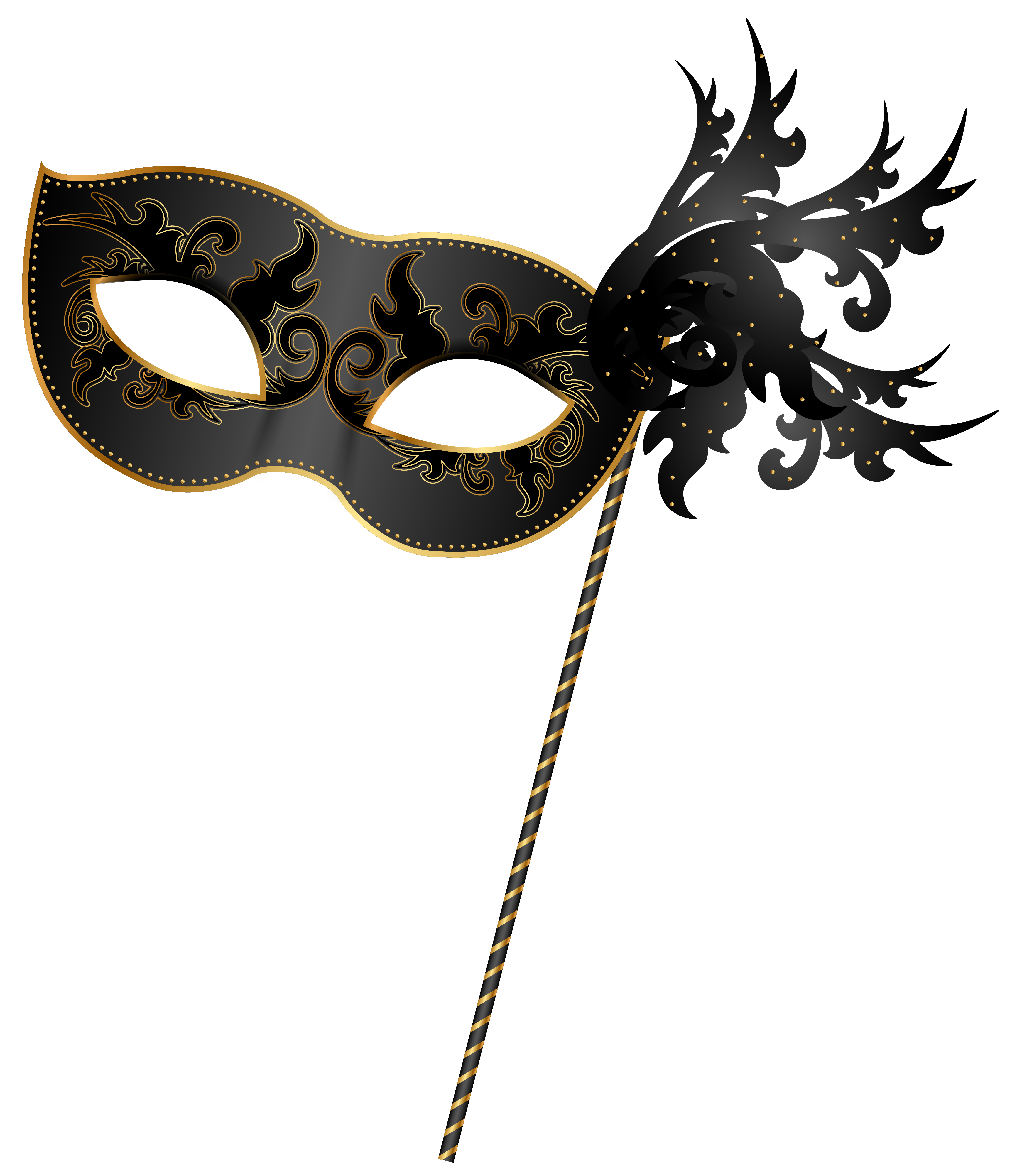 banner black and white stock Masquerade clipart. Border free on dumielauxepices.