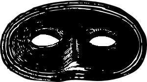 png black and white Masquerade clipart black and white. Mask clip art at.