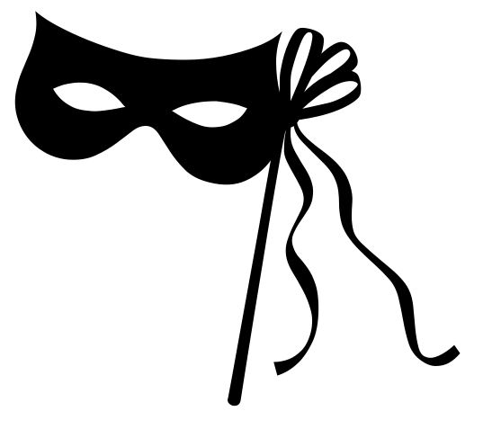 graphic transparent library Masquerade clipart black and white. Free mask cliparts download.