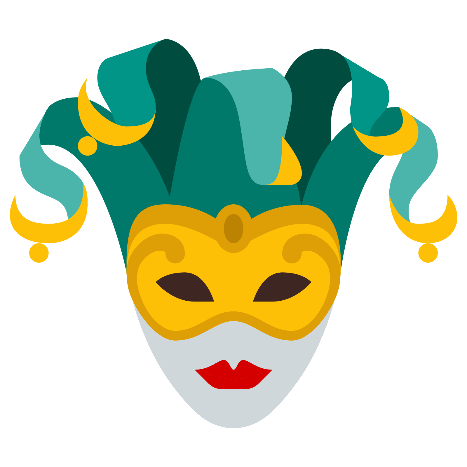 clipart download Venetian Mask Icon