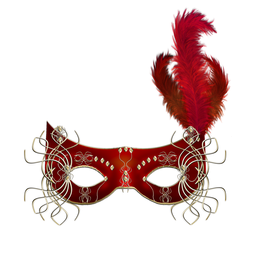 graphic free Red Mask Clipart