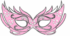 clip art transparent stock Masquerade clipart golden. Pink free on dumielauxepices.