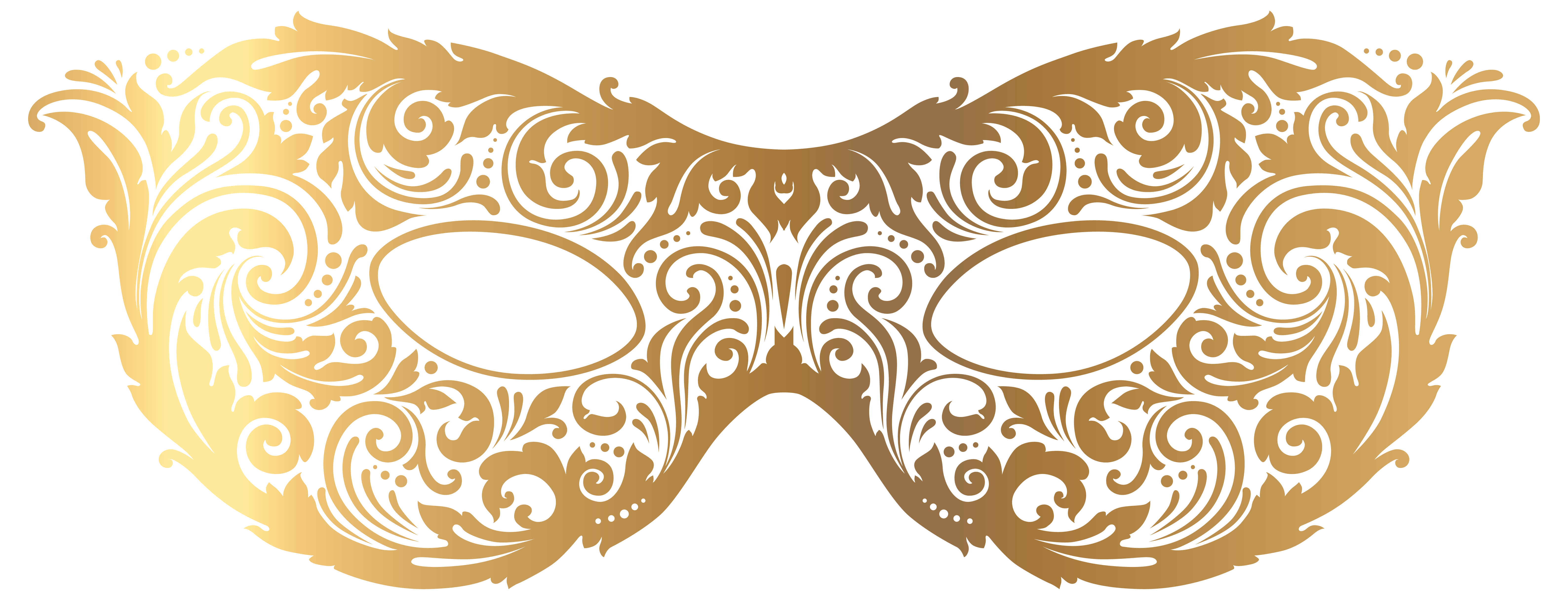 graphic transparent stock  collection of gold. Masquerade clipart golden.