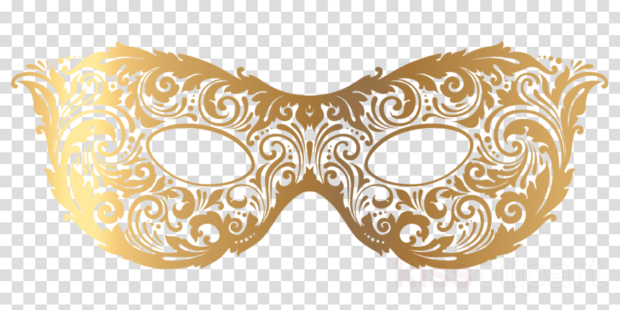 banner library library Masquerade clipart masquerade mask. Gold illustration .