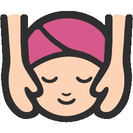 jpg transparent download Massage clipart. Emoji android face