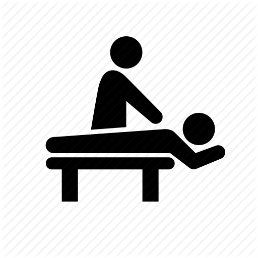 jpg black and white stock Massage Silhouette at GetDrawings