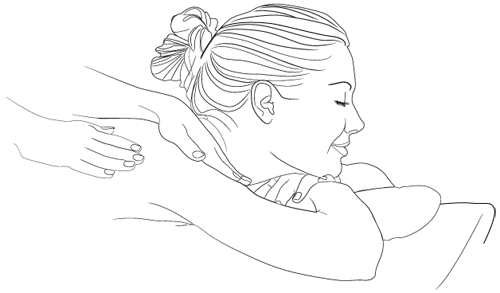 clip free stock Drawing at getdrawings com. Massage clipart sketch.