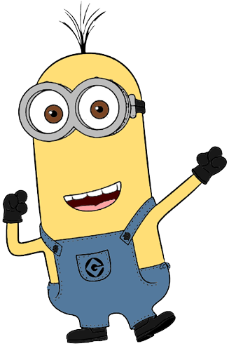 black and white library Monocle clipart animated. Minion kevin collection favorite.