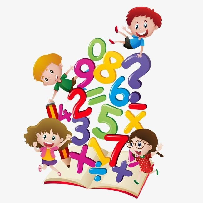 banner library library Math clipart for kids. Learning writings and essays