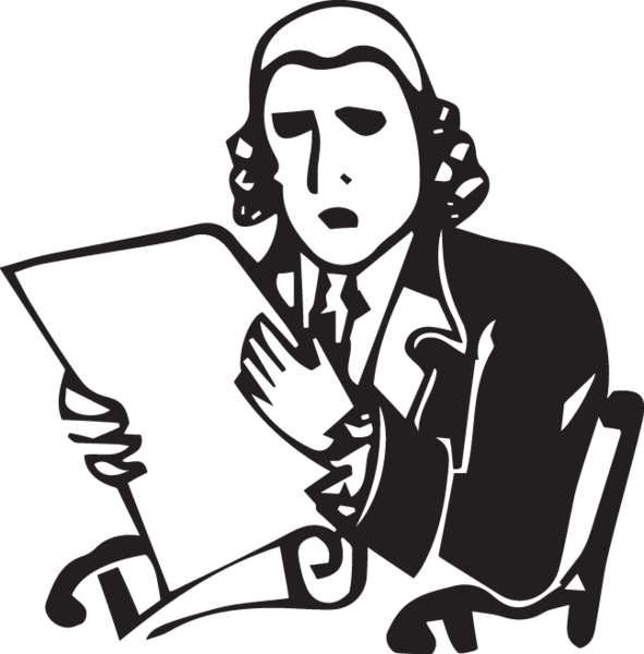 clipart black and white stock Maundy clipart corner.  ga founding father.