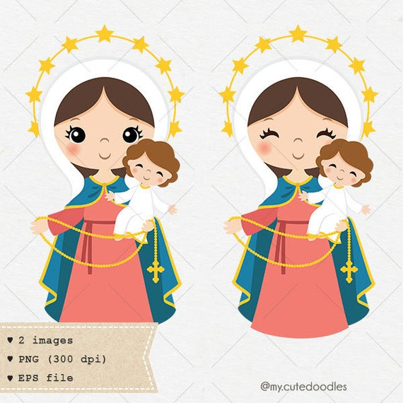 banner free Our lady of the. Maundy clipart winter.