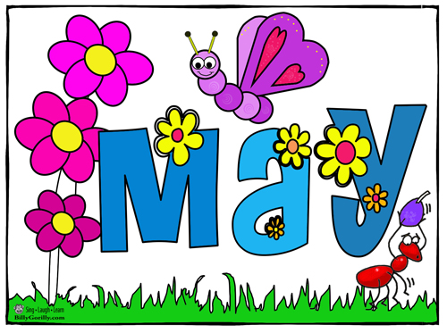 jpg stock Free month cliparts download. May clipart.