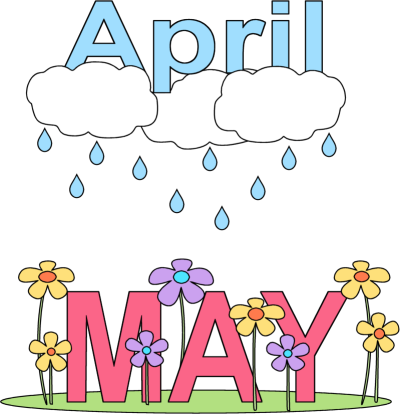 graphic free stock Clip art month of. May clipart.