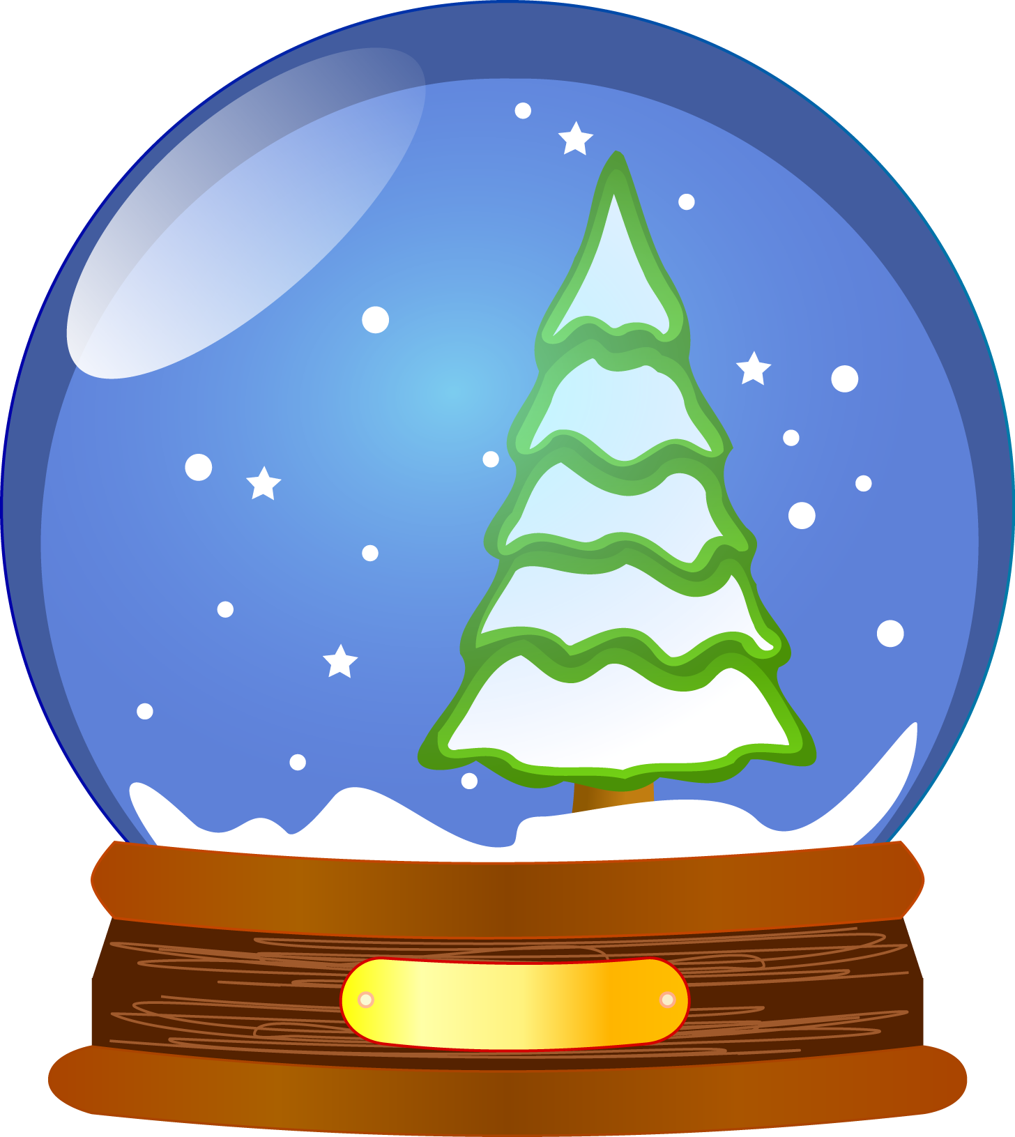 clipart May clipart decoration. Snow globe the oracle.