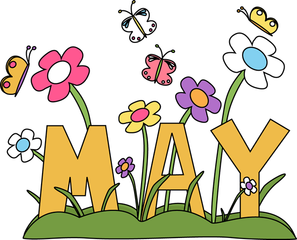 banner royalty free library May clipart. Clip art images month.