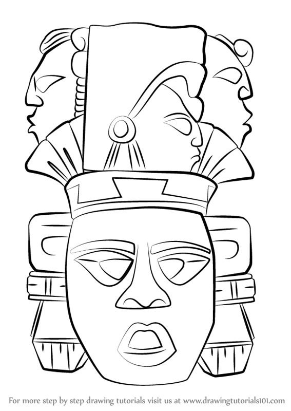 jpg freeuse Mayan drawing. Learn how to draw