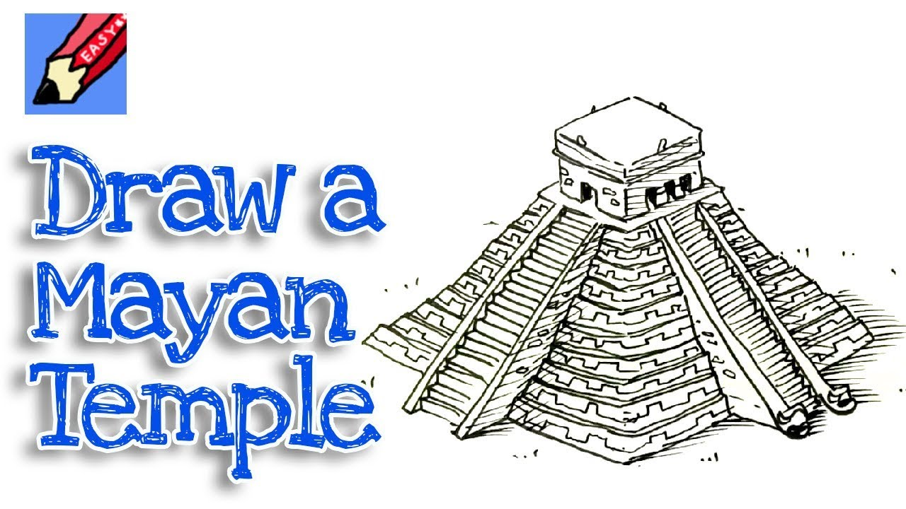 clip art free library How to draw an. Mayan drawing