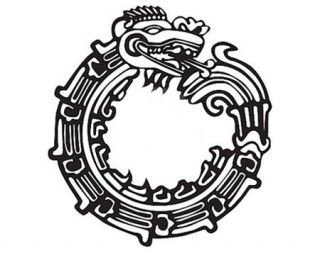graphic black and white library mayan drawing rebirth #137782655