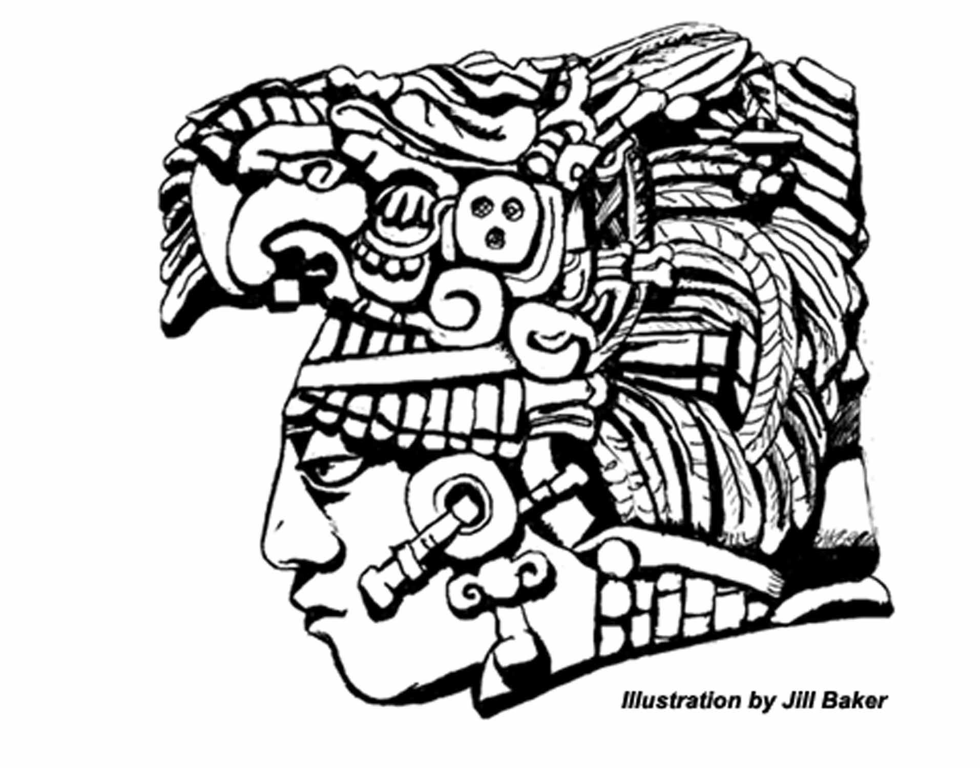 clip art free stock Mayan drawing. Images for simple drawings