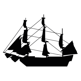 vector black and white download  collection of ship. Mayflower clipart.