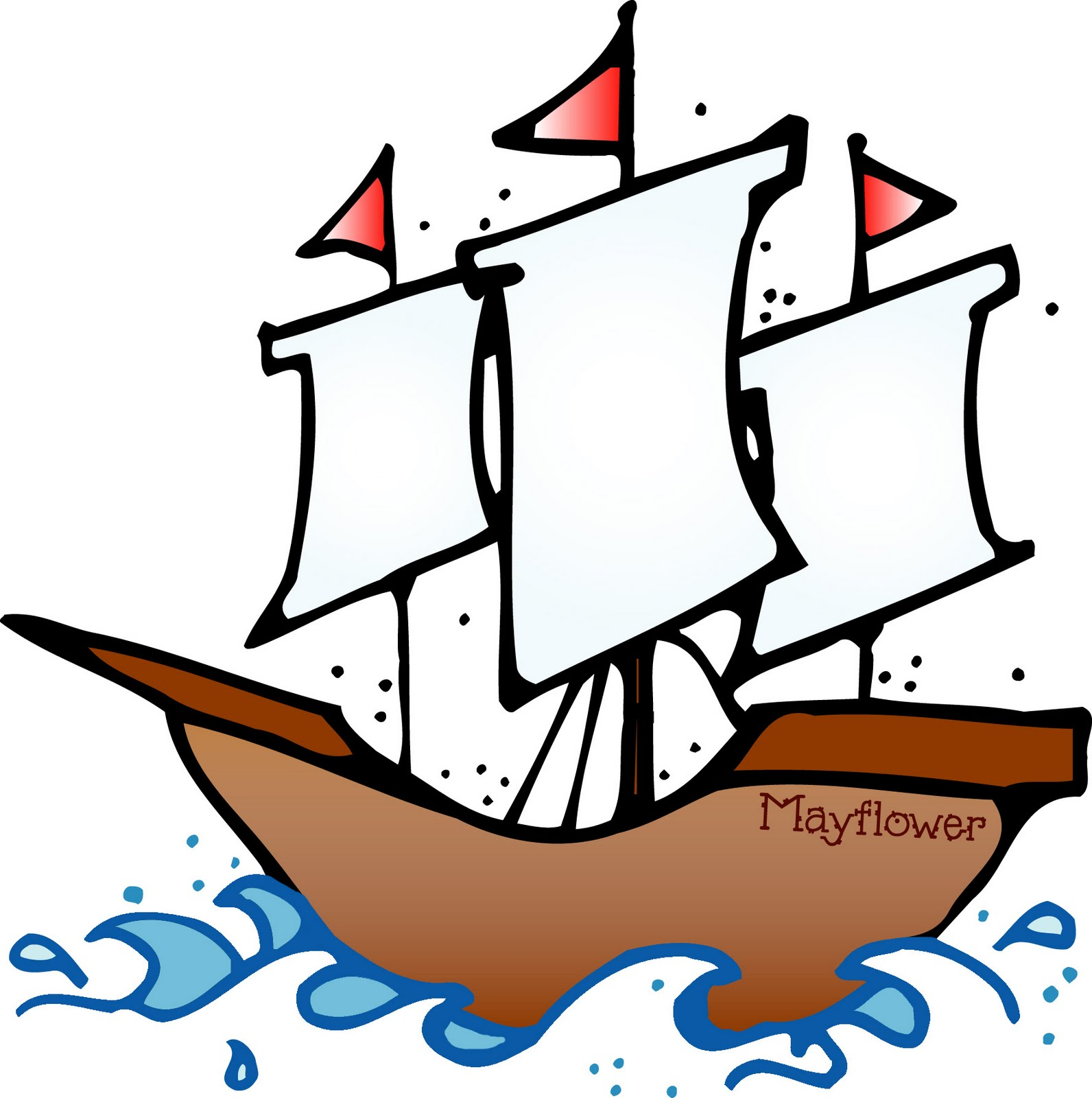 picture black and white download Free cliparts download clip. Mayflower clipart.