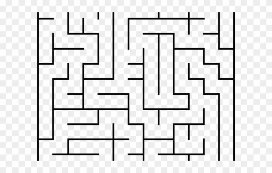 clipart free Big png download . Maze clipart