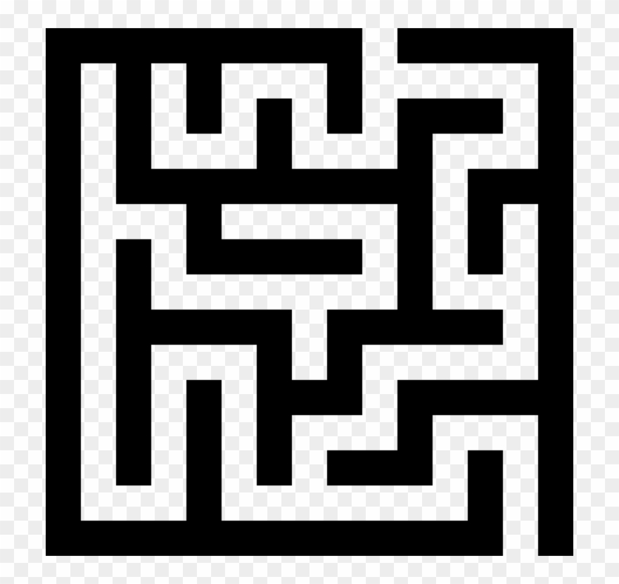 stock Tiny labyrinth puzzle game. Maze clipart