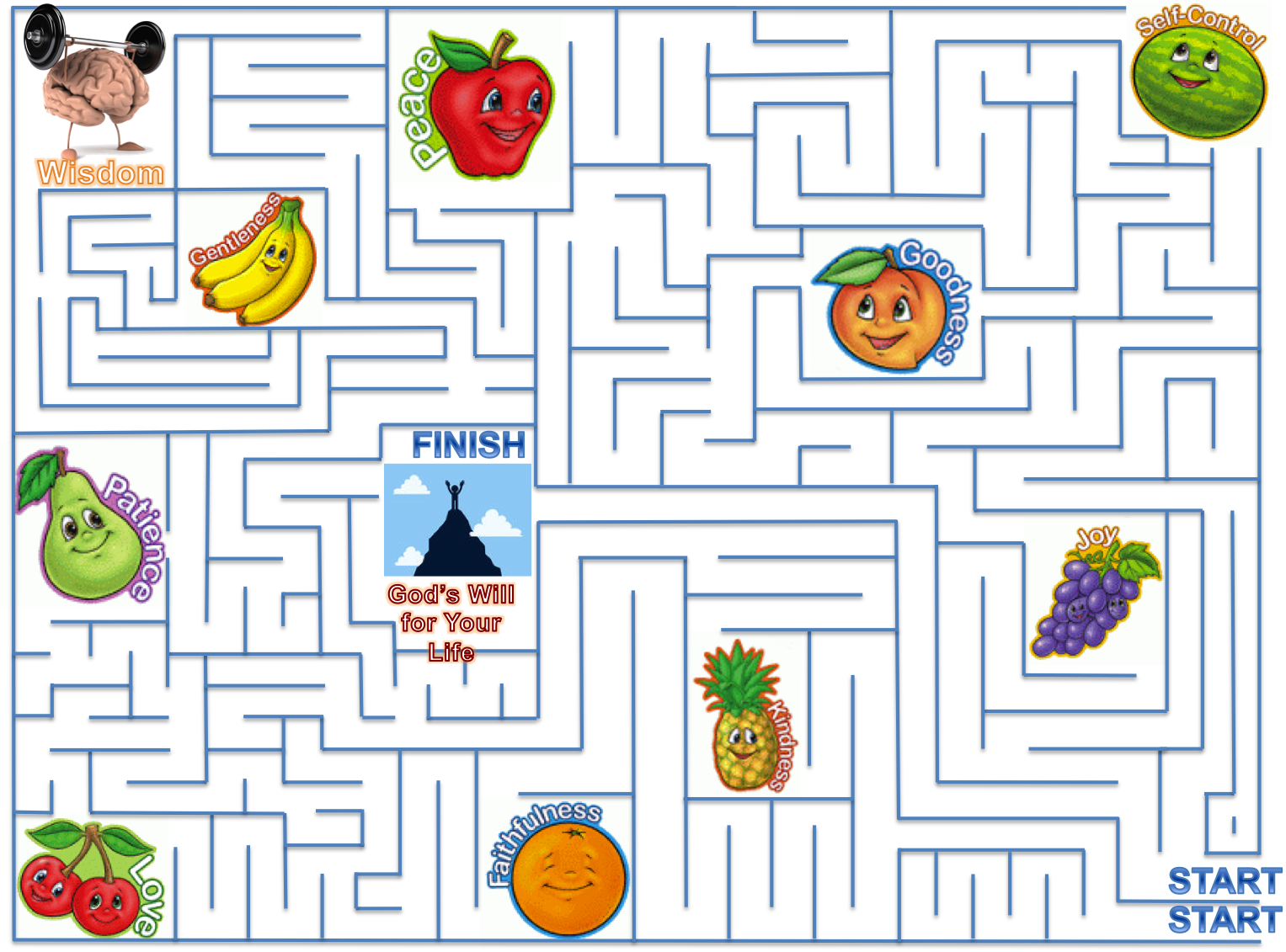 image free download Patience teach them. Maze clipart activity sheet.