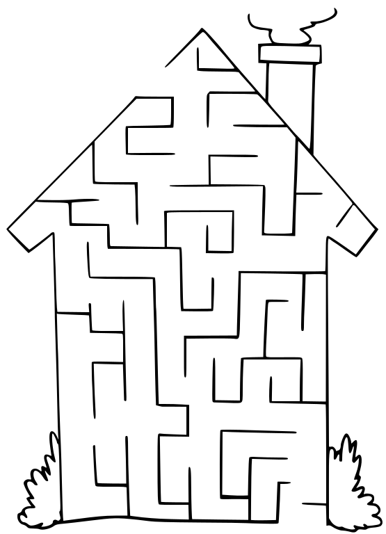 png freeuse stock Recreation games png html. Maze clipart house.