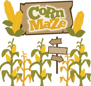 png royalty free library Maze clipart house. Corn svg cricut pinterest.