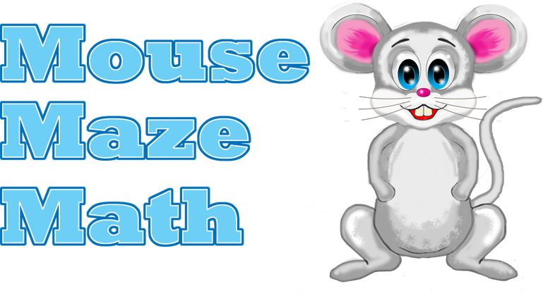 banner free Math . Maze clipart mouse.