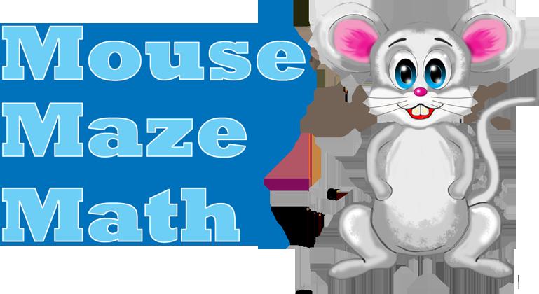 banner free Math . Maze clipart mouse