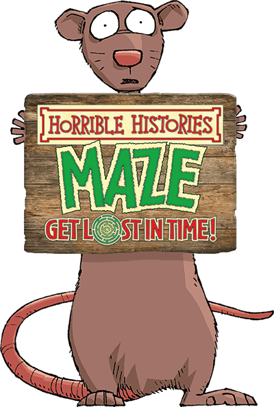 picture library library Warwick castle horrible histories. Maze clipart mouse