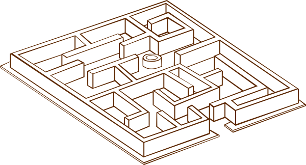 svg free stock Maze clipart simple. Clip art at clker.