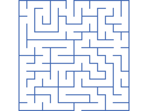 jpg free transparent maze blue #117067118