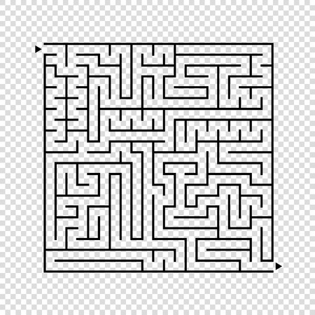 clip art transparent library Abstract square maze