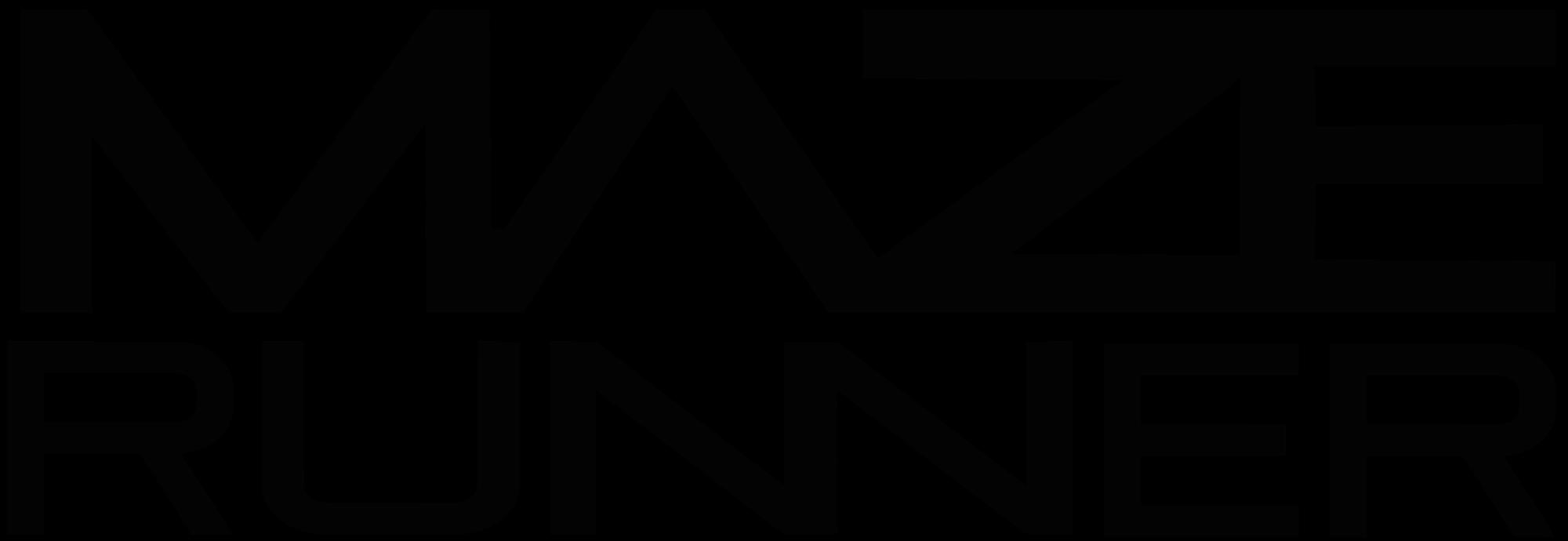 banner black and white maze vector runner #99509547