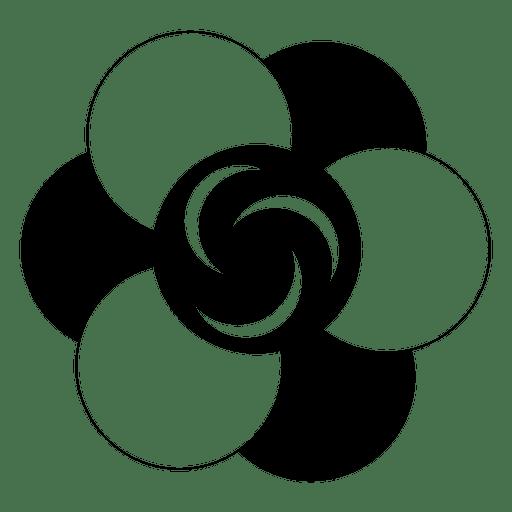image transparent stock Flower crop circle