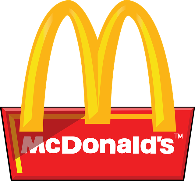 clip black and white download Mcdonalds clipart. Png mart