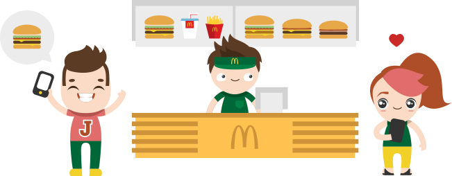 vector transparent App frames illustrations hd. Mcdonalds clipart isometric.