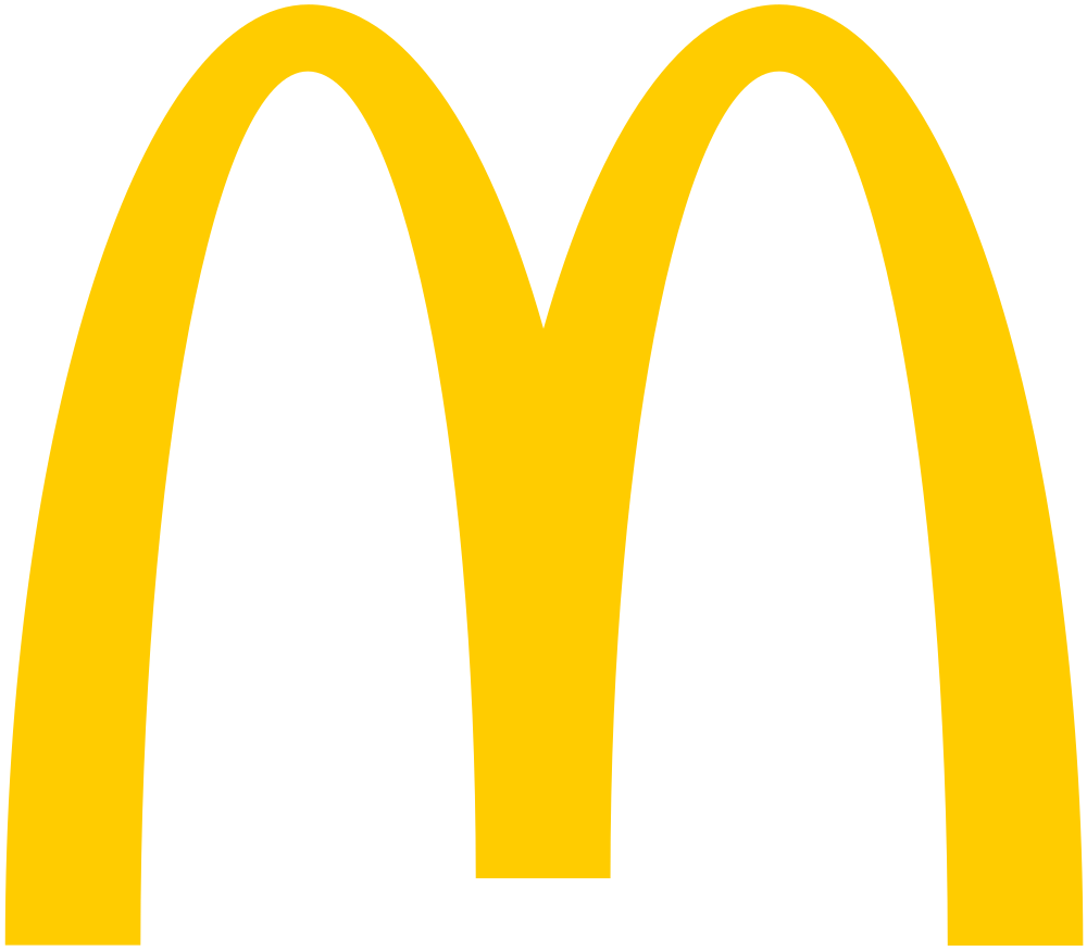 jpg freeuse download Cilpart impressive design mcdonald. Mcdonalds clipart neon.