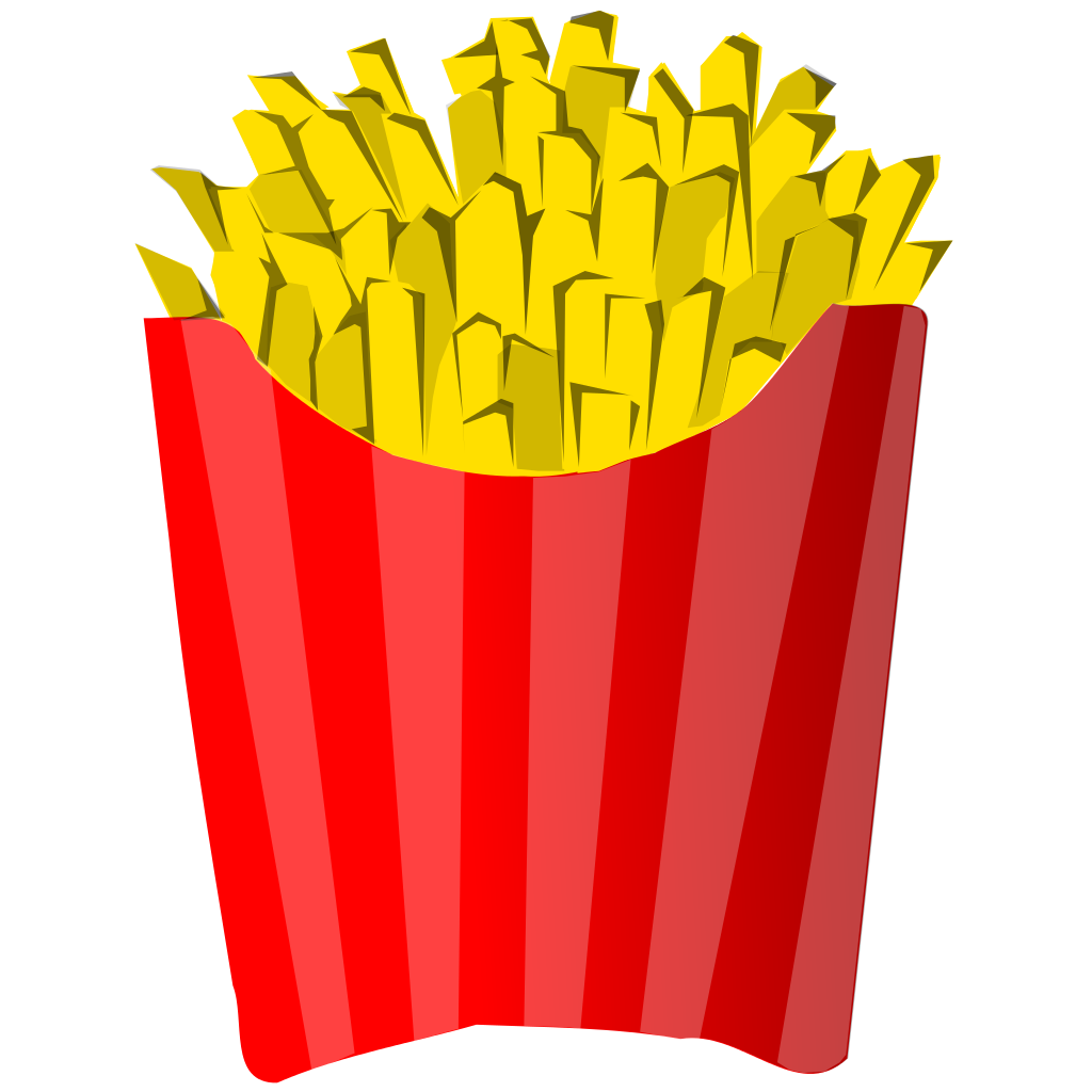 graphic download Mcdonalds clipart printable. File french fries juliane.