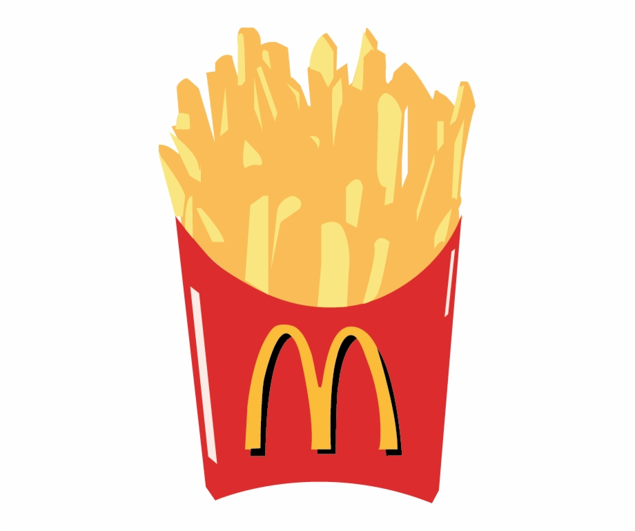 svg freeuse stock Fries mcdonald s french. Mcdonalds clipart printable.