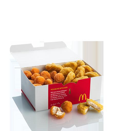 clip transparent download McDonalds Mixed Chicken ShareBox