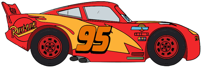 freeuse stock Mcqueen clipart. Disney pixar s cars