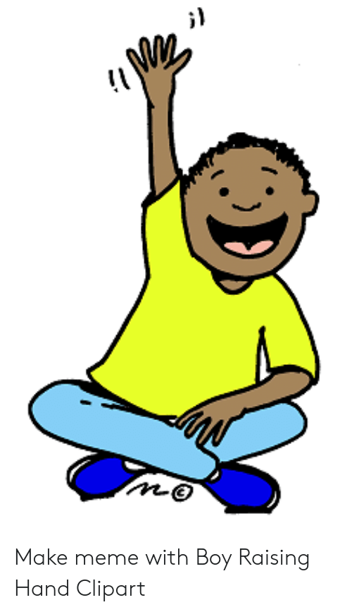 clip art free download Make meme with boy. Me clipart.