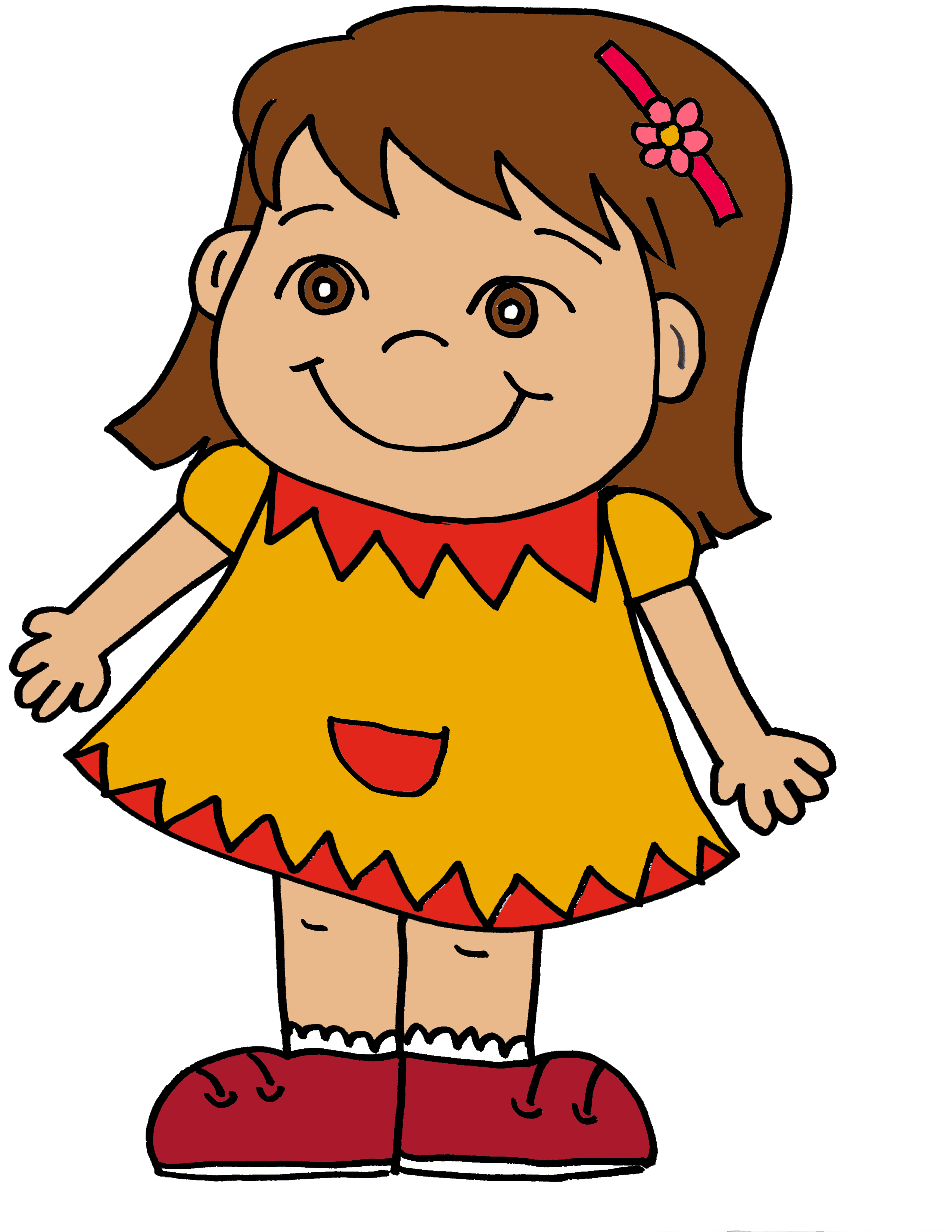 image library download Kid yelling clipart. Free girl cliparts download